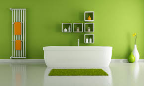 Find A Green Spa Bathroom At Home