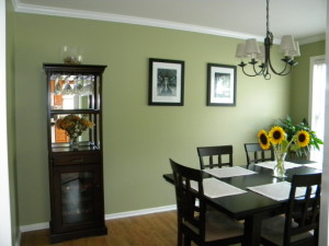 A Green Dining Area